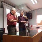 Bate papo na aula de Pilar Mental com o Presidente da FPF.