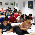 Avaliação teórica do curso Profissional de Árbitros de Futebol 2019